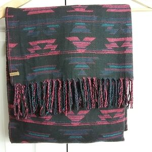 Eddie Bauer Oversized Aztec Patterned Scarf